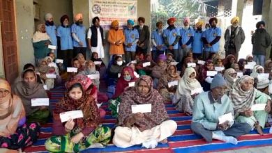 Photo of 'ਸਰਬੱਤ ਦਾ ਭਲਾ ਟਰੱਸਟ' ਵੱਲੋਂ 200 ਪਰਿਵਾਰਾਂ ਨੂੰ ਦਿੱਤੀ ਗਈ 11,0000 ਵਿੱਤੀ ਸਹਾਇਤਾ